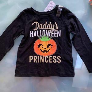 Children's Place Halloween long sleeved t-shirt